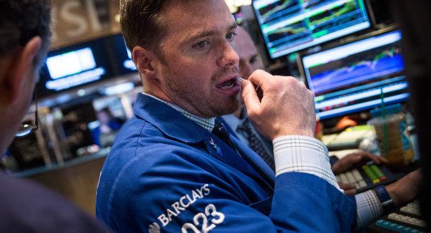 Dow Down Nearly 300 Points On Weak Economic Data