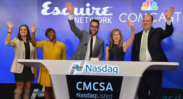 Esquire Network Rings The Nasdaq Stock Market Opening Bell