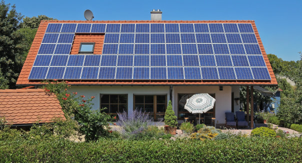 photovoltaic module on private...