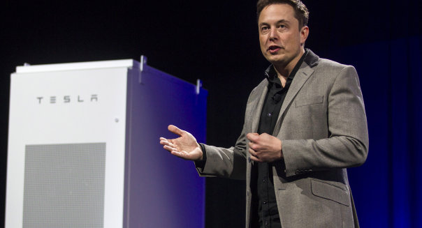 Tesla-Battery Power For Homes