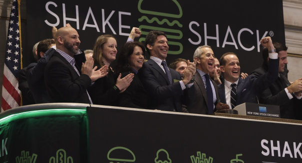 Financial Markets Wall Street Shake Shack IPO