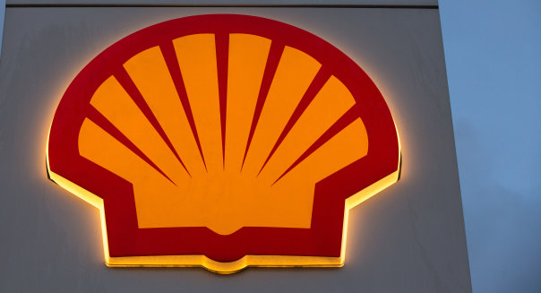 Royal Dutch Shell Plc Launch New Fuel Tanker At Shell Gas Station